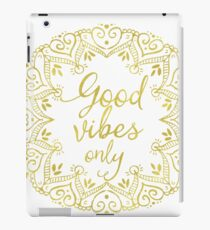 Yoga decor iPad Case/Skin