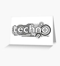 Techno Greeting Card