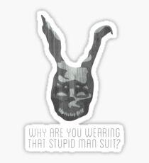 Man Suit Sticker