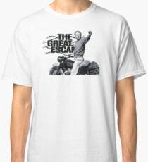 Steve McQueen The great escape TRIUMPH TR6 Moto Classic T-Shirt