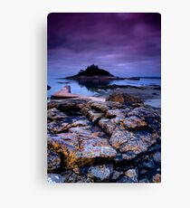 """""""Dawn Over St Michael's Mount"""" Canvas Print"""