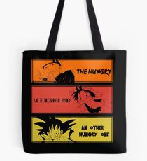 Hungry teammates!Naruto, One Piece, Dragon Ball Tote Bag