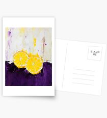 Lemon Scented Fruit Postcards