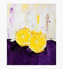 Lemon Scented Fruit Photographic Print