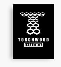 Torchwood institute - dr who Canvas Print