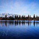 "The Remarkable""s"" Lake Wakatipu by Adam Northam"