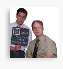 6 Days Since Our Last Nonsense - AARM Metal Print
