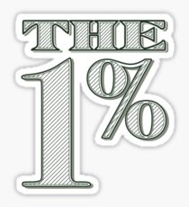 The 1% Sticker
