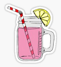 Pink Lemonade Sticker