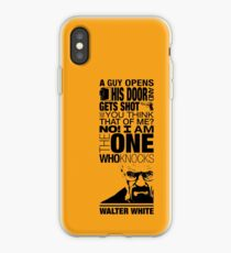 Walter Knocks iPhone Case