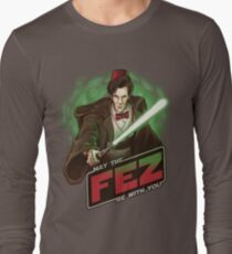 May the Fez be With You Long Sleeve T-Shirt
