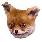 ORIGINAL STONED TAXIDERMY FOX MEME  by ADELE MORSE