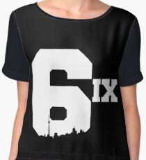 The 6ix Women's Chiffon Top