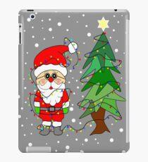 Playful Santa iPad Case/Skin