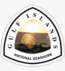 Gulf Islands National Seashore Sticker