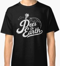 Pees (Peace) On Earth Classic T-Shirt
