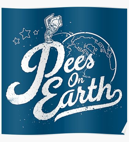 Pees (Peace) On Earth Poster