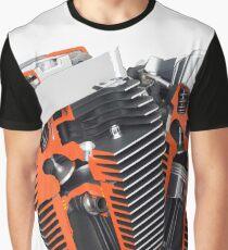 Harley Davidson Engine Graphic T-Shirt