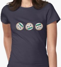 Rowlet Roll Womens Fitted T-Shirt