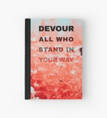 Devour All Who Stand In Your Way (Infrared/Butterfly) Hardcover Journal