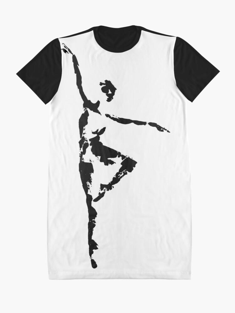 Alternate view of Balance Graphic T-Shirt Dress