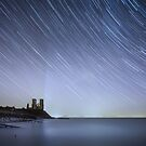 Starry Reculver by Ian Hufton