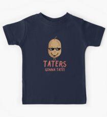 Taters Gonna Tate - kühle Kartoffel Kinder T-Shirt