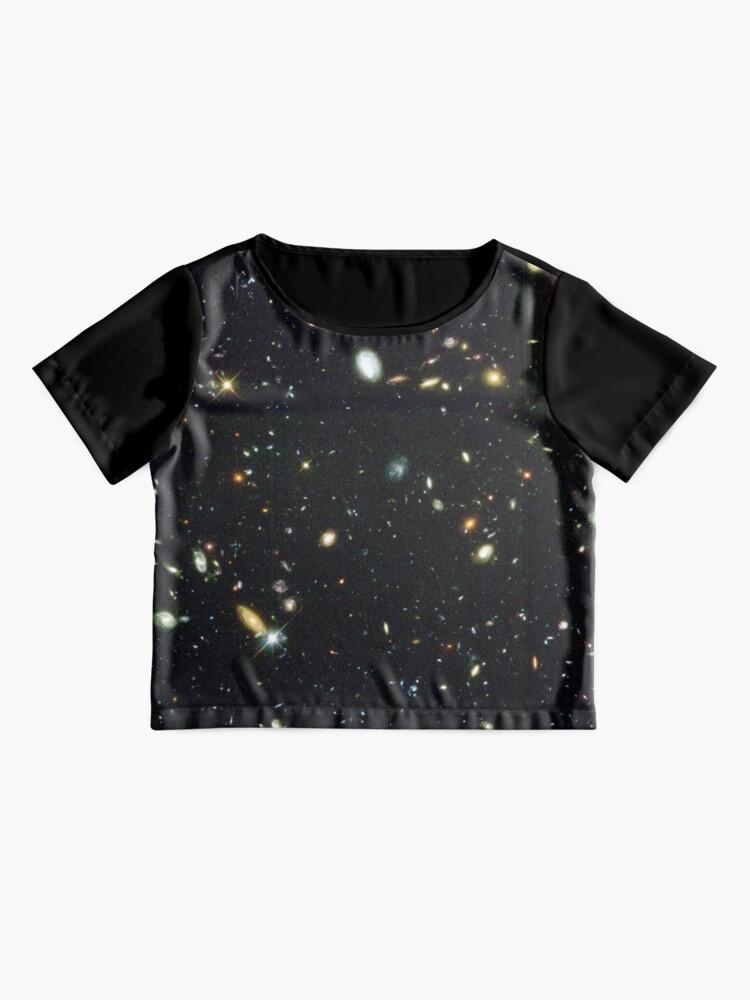 Alternative Ansicht von Das Hubble-Tiefenfeld Chiffon Top