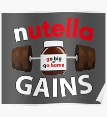 Nutella Gains Poster