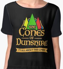 The Cones Of Dunshire Chiffon Top