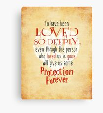 Wizardry - Love & Protection Canvas Print