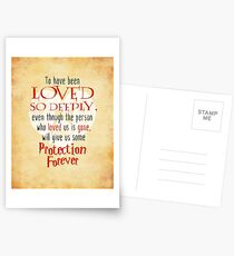Wizardry - Love & Protection Postcards