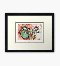 Doodle Bugs Framed Print