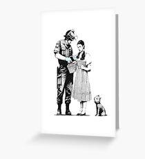 Banksy_Policeman Greeting Card