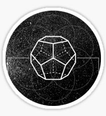 DODECAHEDRON-CONSCIOUSNESS Sticker