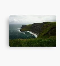 The Wall (Cliffs of Moher)  Canvas Print