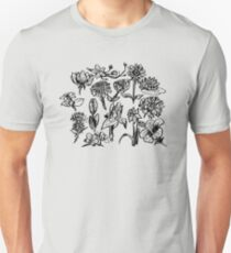 Assorted Flowers Unisex T-Shirt