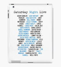 SNL Cast Members iPad Case/Skin