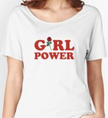 Girl Power Women's Relaxed Fit T-Shirt