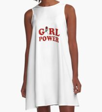 Girl Power A-Line Dress
