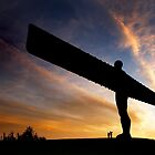 The Angel of the North by Dave Hudspeth