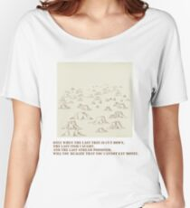 When the Last Tree Is Cut Down Women's Relaxed Fit T-Shirt