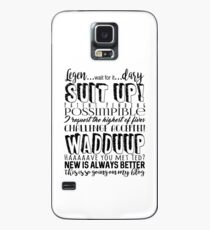 HIMYM Barney Stinson Quotes Case/Skin for Samsung Galaxy