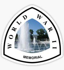 World War II Memorial Sticker