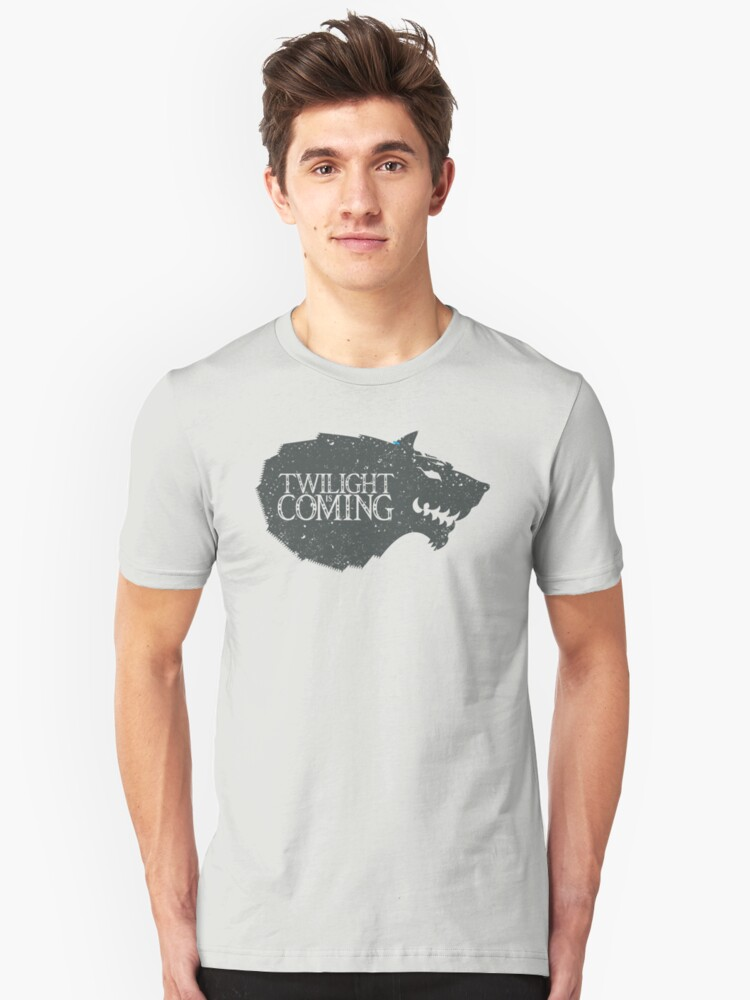 Twilight is Coming Unisex T-Shirt Front