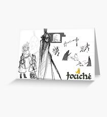Touche Concept Greeting Card