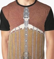 "Art Deco Design by Erte ""Adoration"" Graphic T-Shirt"