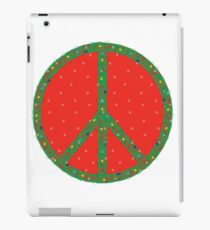Peace on Earth - even in the Snow! iPad Case/Skin
