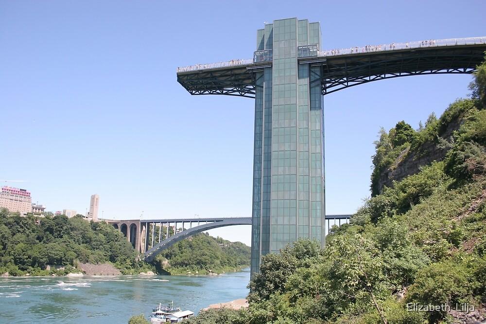 Niagara Falls Observation Tower by Elizabeth  Lilja