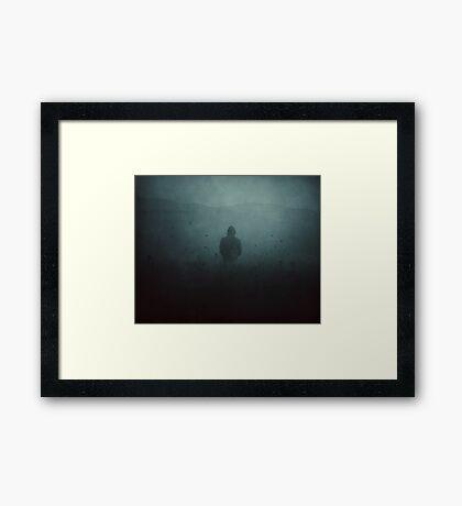 La niebla Lámina enmarcada